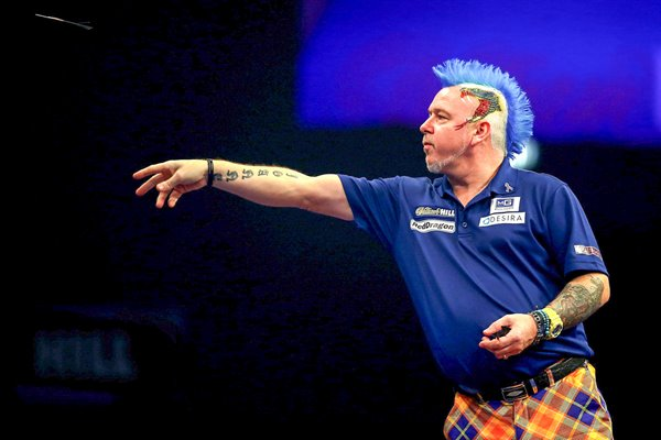 Peter Wright PDC World Darts Championships 2015