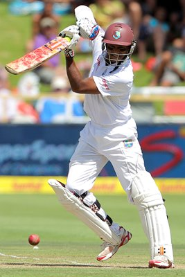 Shivnarine Chanderpaul West Indies v South Africa Cape Town 2015