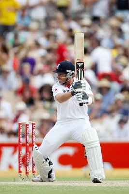 Ian Bell Adelaide action - 2010 Ashes