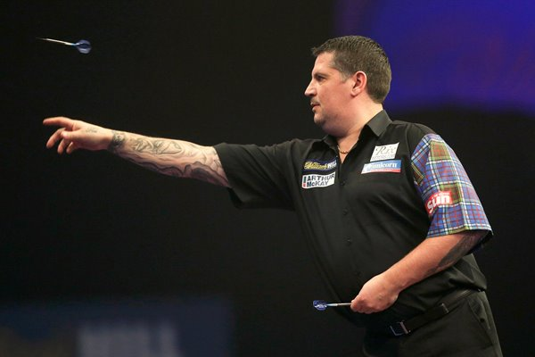 Gary Anderson  PDC World Darts Championships 2015