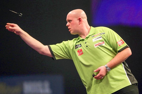 Michael van Gerwen PDC World Darts Championships 2015