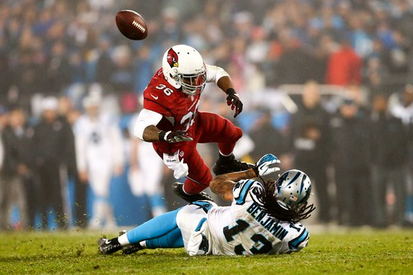 Wild Card Playoffs Kelvin Benjamin Cardinals v Panthers 2015
