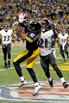 Wild Card Playoffs Martavis Bryant Ravens v Steelers 2015 Prints