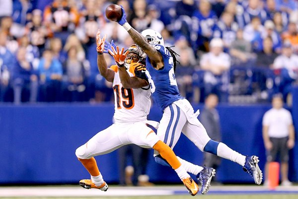 Wild Card Playoffs Greg Toler Colts v Bengals 2015