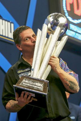 Gary Anderson PDC World Darts Championships 2014