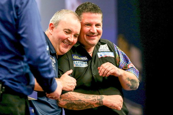 Gary Anderson & Phil Taylor PDC World Darts Championships