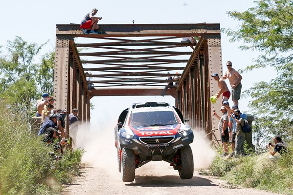Stephane Peterhansel Team Peugeot Dakar 2015