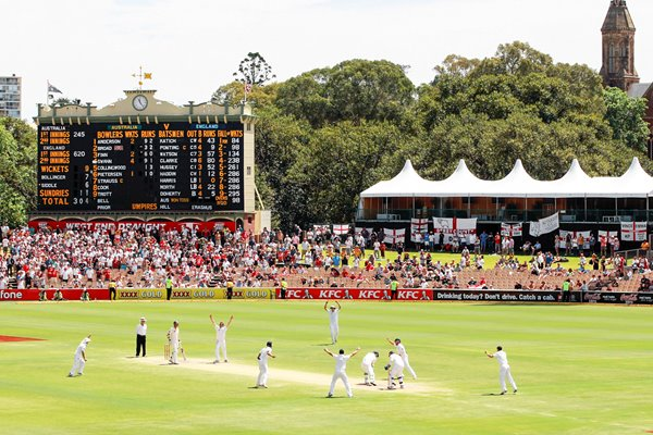 Graeme Swann England Victory Moment - Adelaide - 2010 Ashes