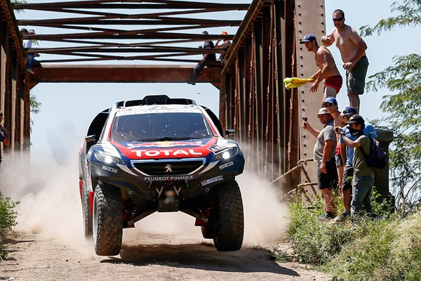 Stephane Peterhansel Team Peugeot 2015 Dakar Rally