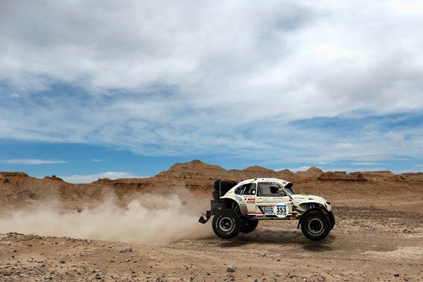 Stephane Henrard VW Beetle 2015 Dakar Rally
