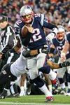 Divisional Playoffs Tom Brady Patriots v Ravens 2015 Prints