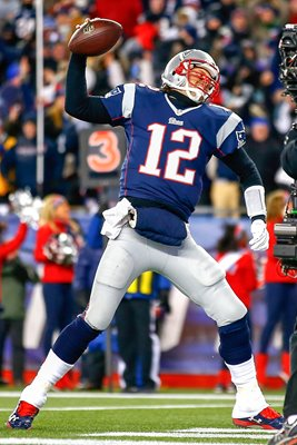 Divisional Playoffs Tom Brady Patriots v Ravens 2015