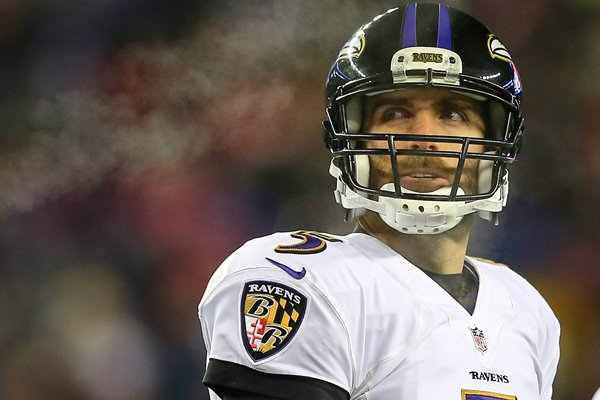 Divisional Playoffs  Joe Flacco Ravens v Patriots 2015