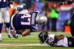 Divisional Playoffs Michael Hoomanawanui Ravens v Patriots 2015 Mounts