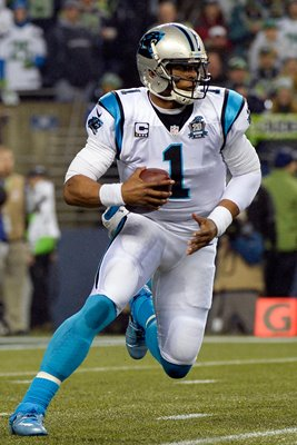 NFC Divisional Playoffs Cam Newton Panthers v Seahawks 2015