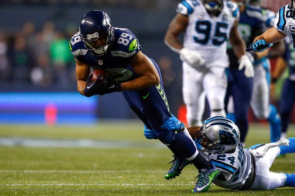 NFC Divisional Playoffs Doug Baldwin Panthers v Seahawks 2015