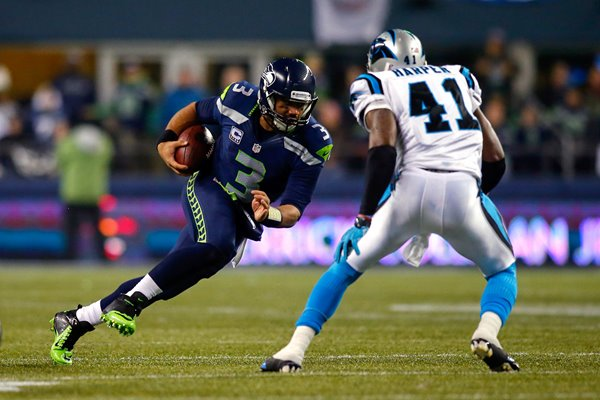 NFC Divisional Playoffs Marshawn Lynch Panthers v Seahawks