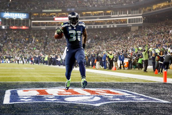NFC Divisional Playoffs Kam Chancellor Seahawks v Panthers 2015
