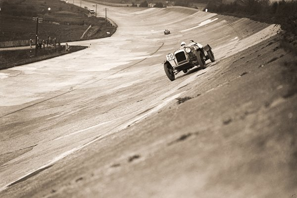 Alvis At Brooklands race 1931