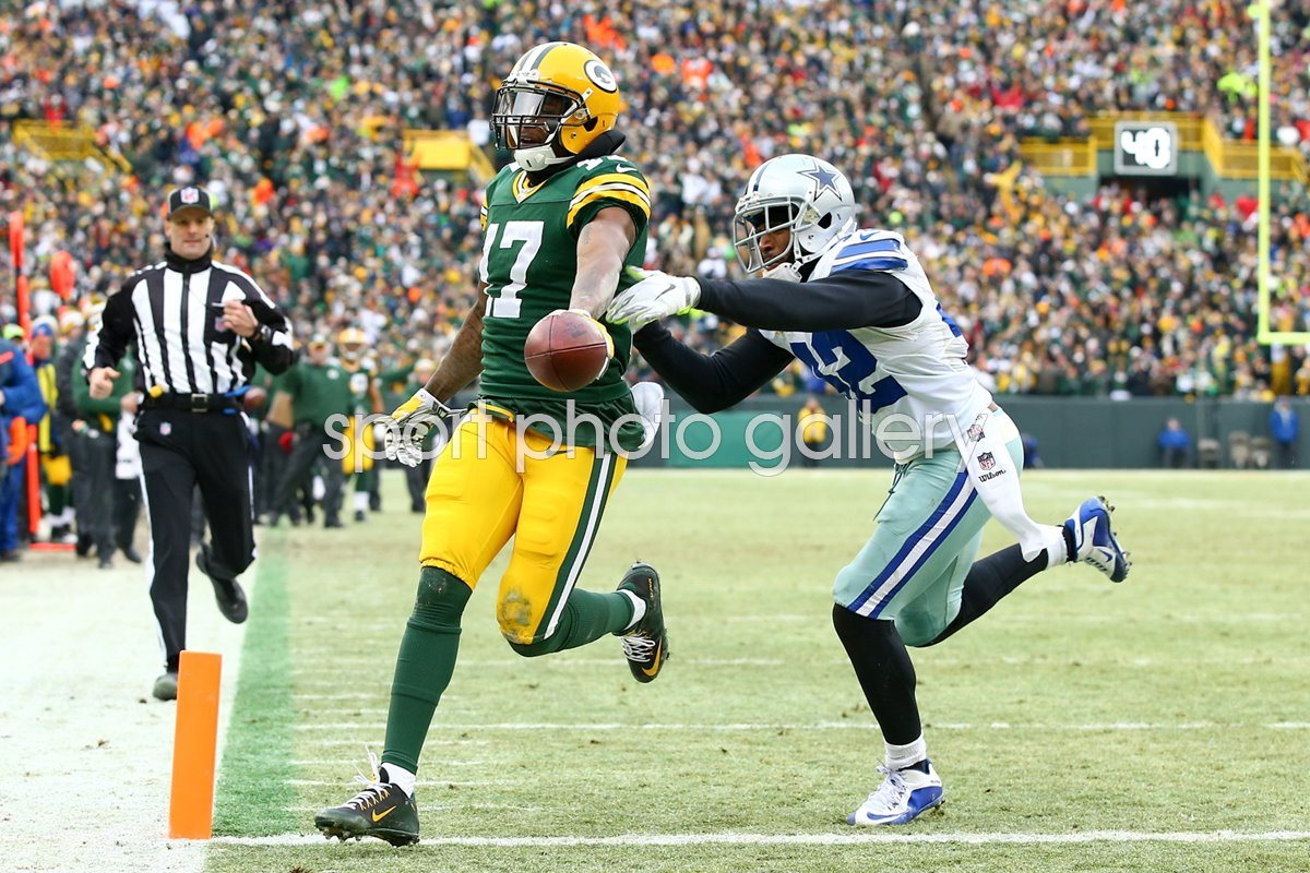 Divisional Playoffs Davante Adams Packers v Cowboys 2015