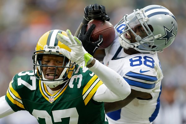 Divisional Playoffs Dez Bryant Cowboys v Packers 2015