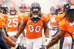 Divisional Playoffs Demaryius Thomas Broncos v Colts 2015 Mounts