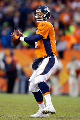 Divisional Playoffs Peyton Manning Broncos v Colts 2015