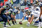 St Louis Rams v Seattle Seahawks Playoffs 2014 Wall Sticker