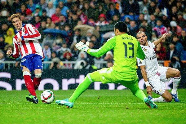 Fernando Torres Atletico Madrid goal v Real Madrid