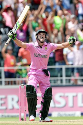 AB de Villiers South Africa Fastest One Day Century 2015