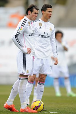 Bale and Ronaldo Real Madrid La Liga 2015