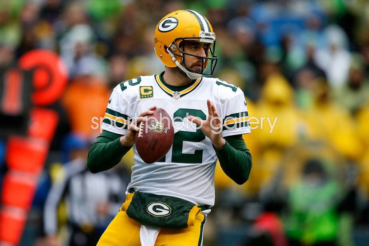 Aaron Rodgers Packers v Seahawks 2015