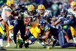 Eddie Lacy Packers v Seahawks 2015 Mounts