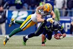 Clay Matthews Packers v Seahawks 2015 Prints