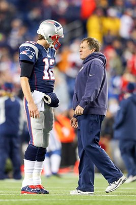 Tom Brady & Bill Belichick Patriots 2015