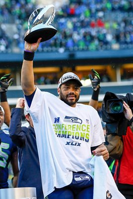 Russell Wilson Seahawks v Packers 2015