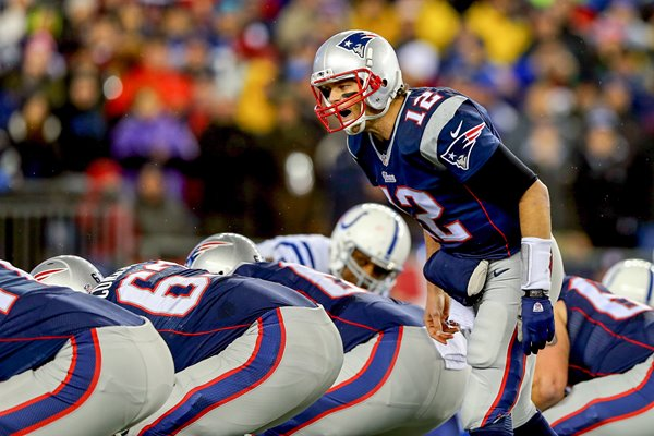 Tom Brady Patriots v Colts 2015