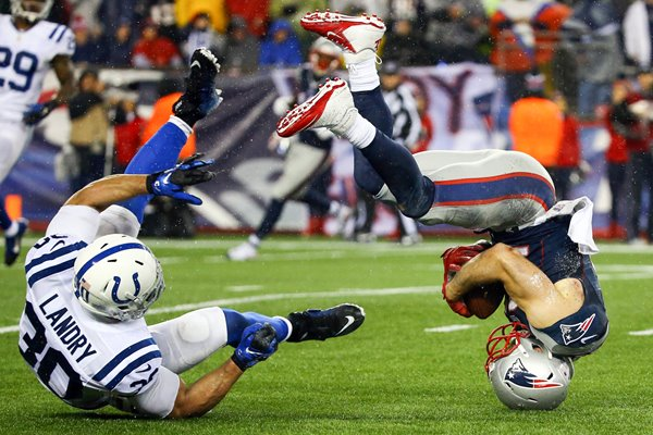 Julian Edelman Patriots v Colts 2015