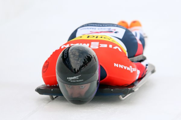 Lizzy Yarnold Skeleton World Cup St Moritz 2014