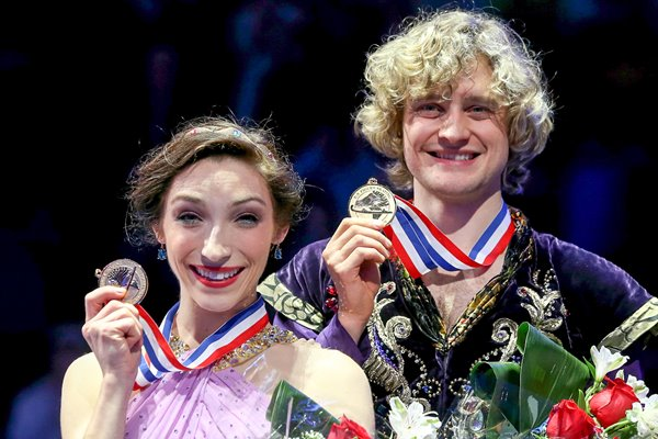 Charlie White & Meryl David USA Figure Skating Boston 2014