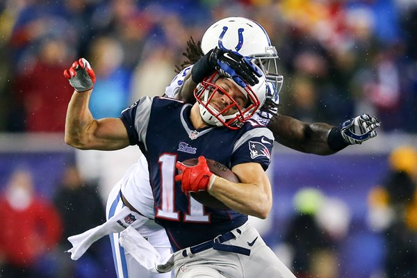 Julian Edelman New England Patriots v Colts Playoffs 2014