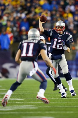 Tom Brady New England Patriots Quarterback Playoffs 2014