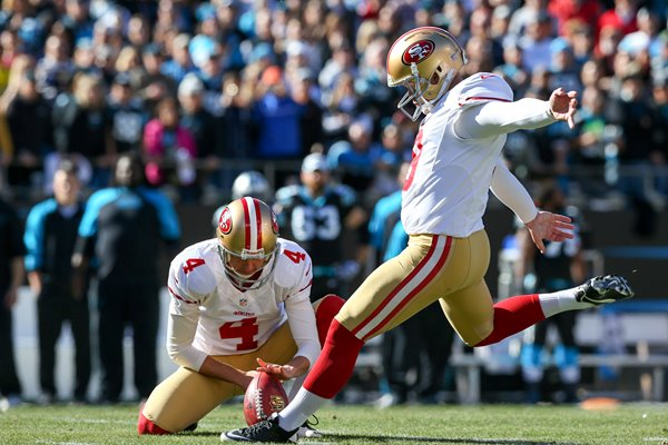 Phil Dawson San Francisco 49ers kicker playoffs 2014
