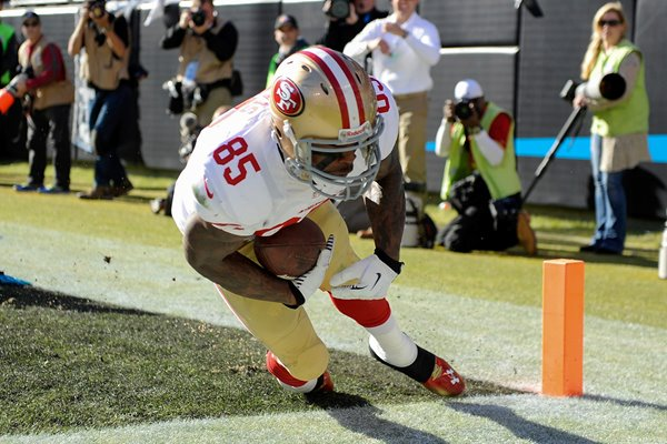 Vernon Davis San Francisco 49ers Touchdown catch 2014