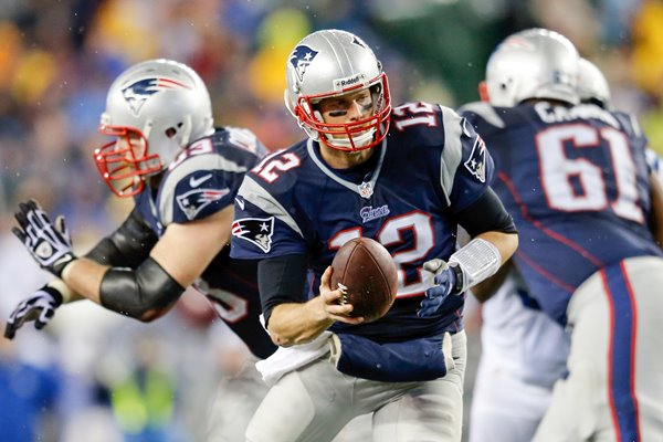 Tom Brady New England Patriots Playoffs 2014
