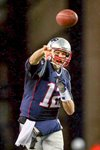 Tom Brady New England Patriots Quarterback Playoffs 2014 Prints