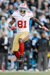 Anquan Boldin #81 of the San Francisco 49ers playoffs 2014 Prints