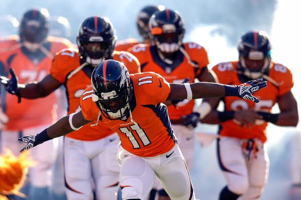 Trindon Holliday Denver Broncos AFC Divisional Playoff 2014