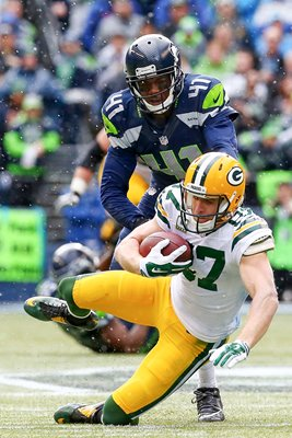 Jordy Nelson Green Bay Packers v Seattle Seahawks