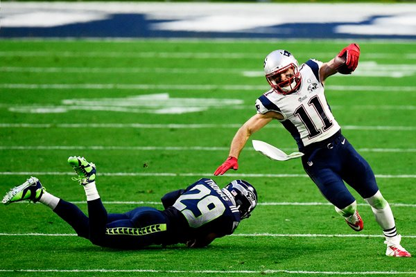 Julian Edelman New England Patriots v Seattle Seahawks